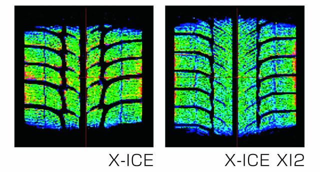 X-ICE XI2 接地面圧の均等化
