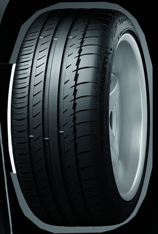 MICHELIN Pilot Sport PS25リブパターン
