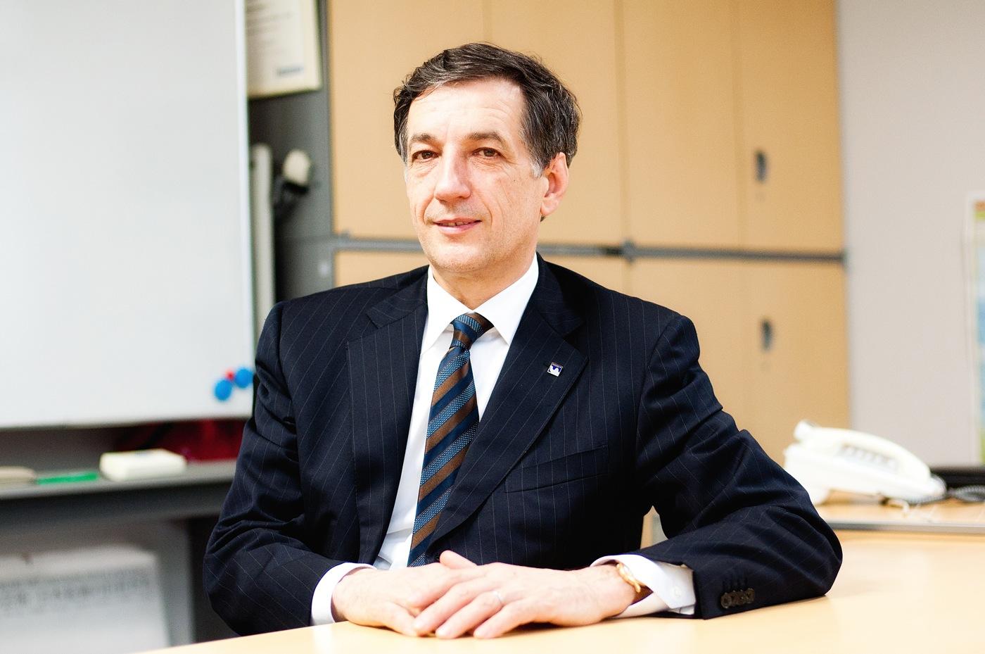 日本ミシュランタイヤ(株) 代表取締役社長ベルナール・デルマス