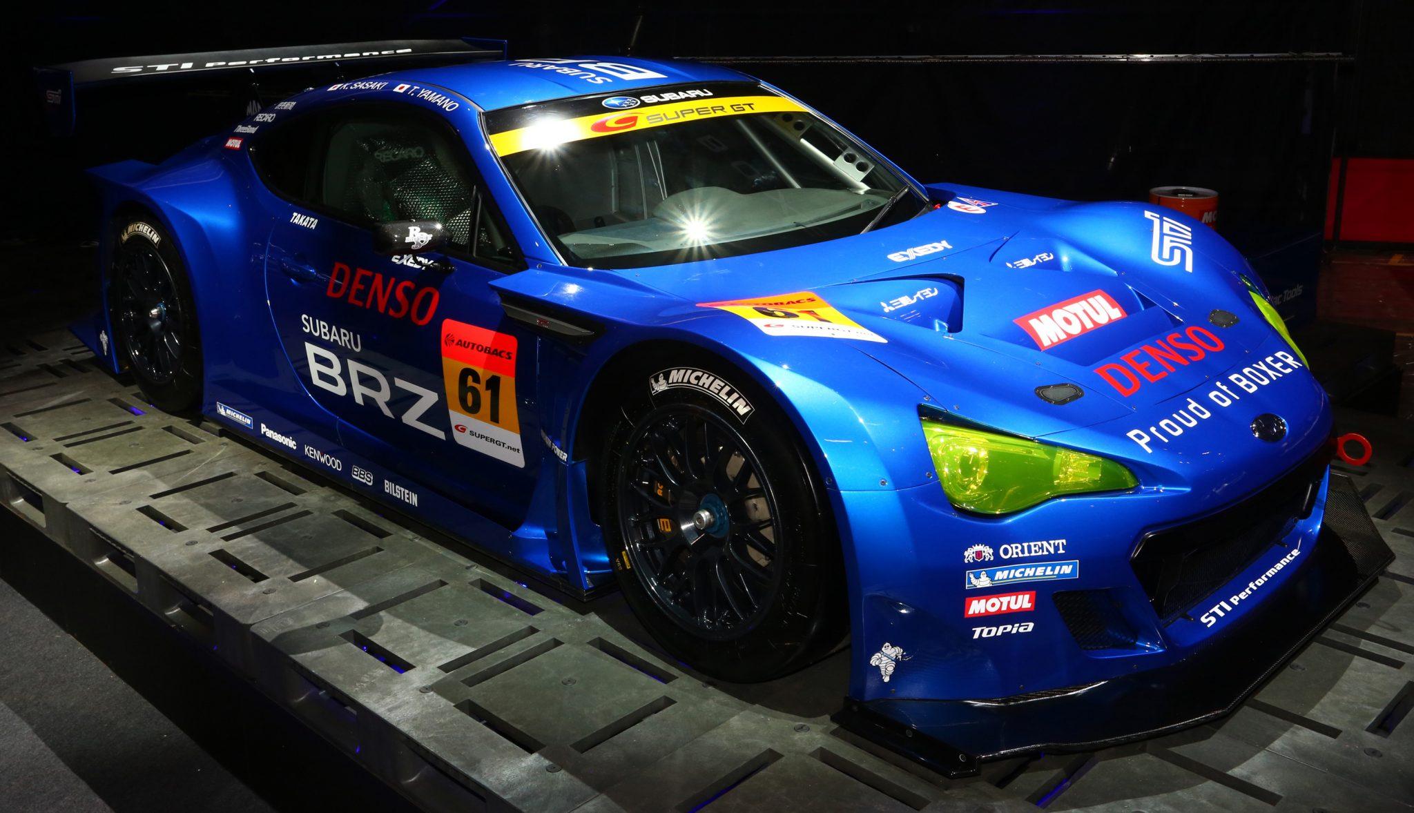 2013 SUPER GT 300 SUBARU BRZ