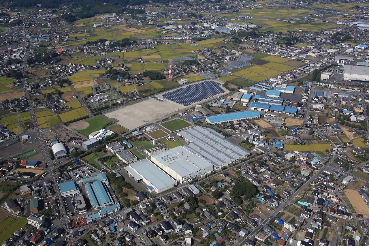 日本ミシュランタイヤ(株)太田サイト(2013年12月現在)