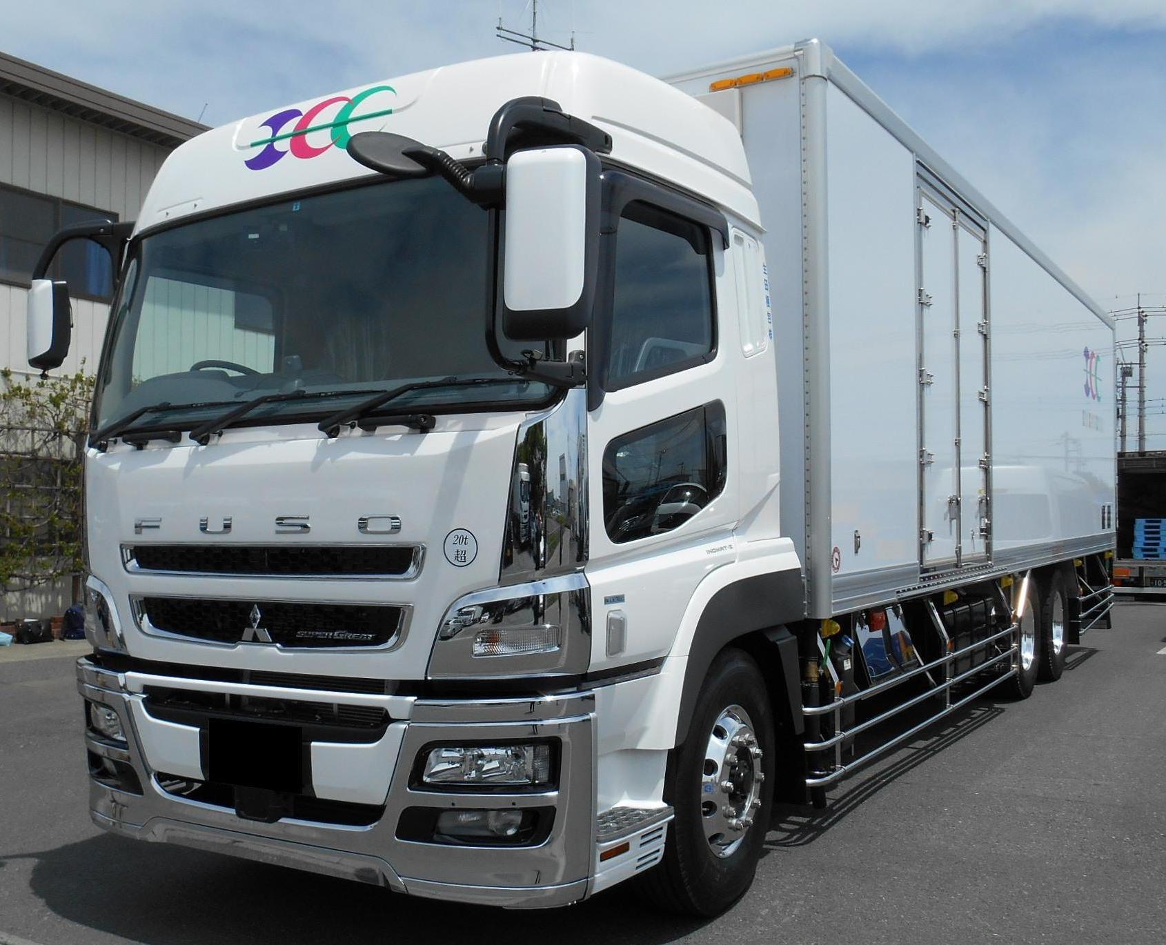 XOne装着生田梱包冷凍車輌