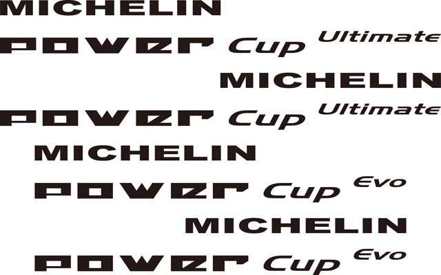 MICHELIN POWER CUP EVO ロゴ