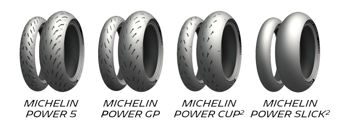 MICHELIN POWER EXPERIENCEシリーズ ラインナップ