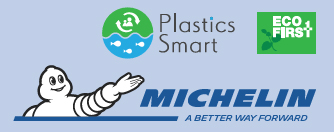 ミシュラン Plastics Smart ロゴ