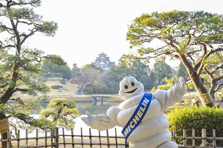 「ミシュランガイド京都・大阪+岡山2021」公式写真(岡山 後楽園にて撮影)