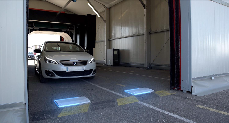 ミシュランの自動タイヤ点検ソリューションMICHELIN QuickScan
