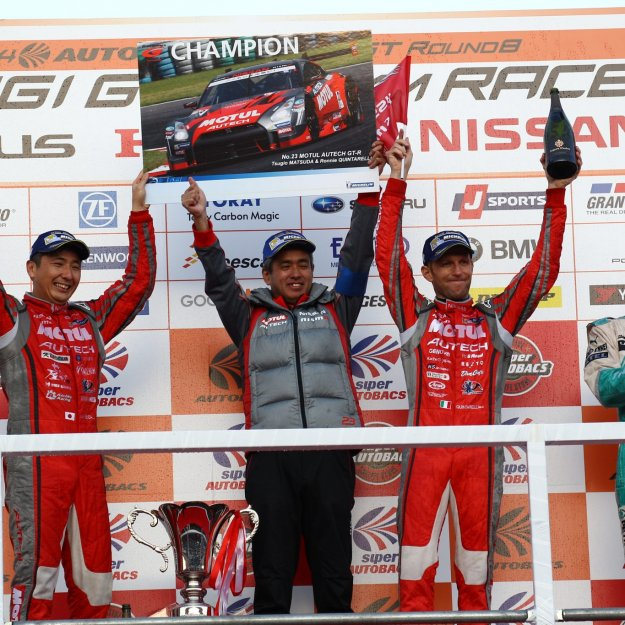 2014 SuperGT Rd8_NISMO_series champion (2)