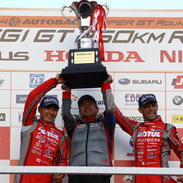 2014 SuperGT Rd8_NISMO_series champion (1)